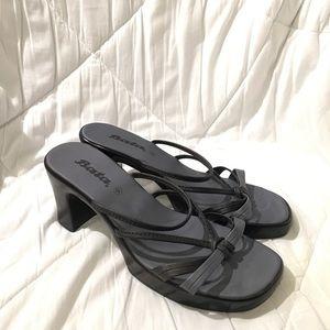 """NWOT Bata 3"""" Block Heel Sandals"""